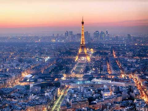 Paris France Eiffel