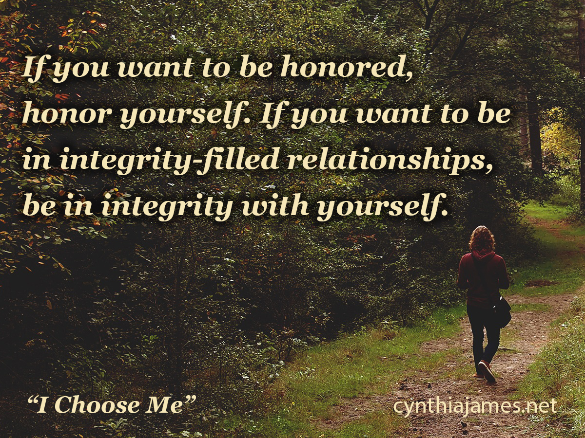 Are You In Integrity